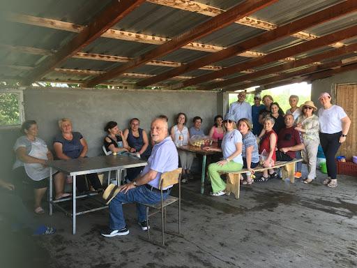 A recent Class of '93 get-together with Armen Der Kiureghian