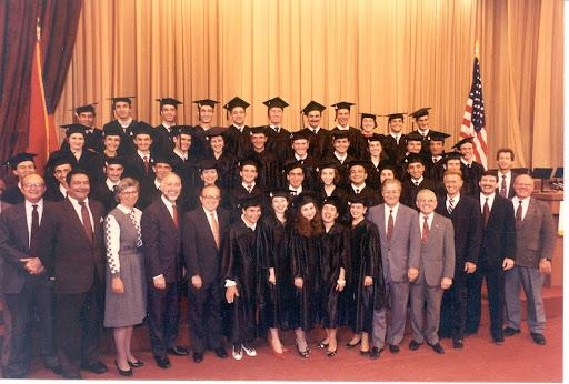 AUA Class of 1993 on Graduation Day